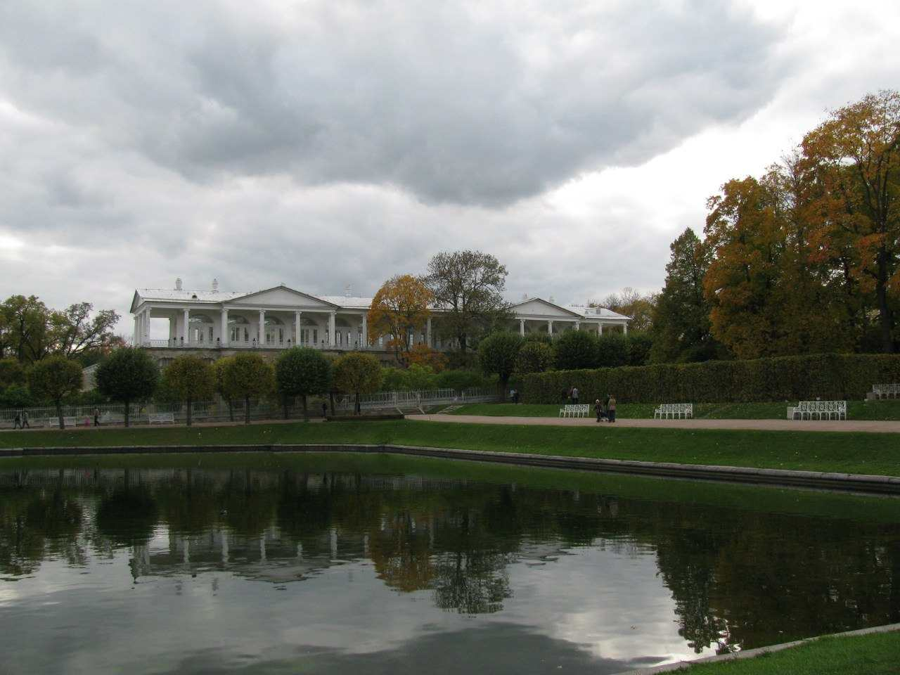 Царское село осенью