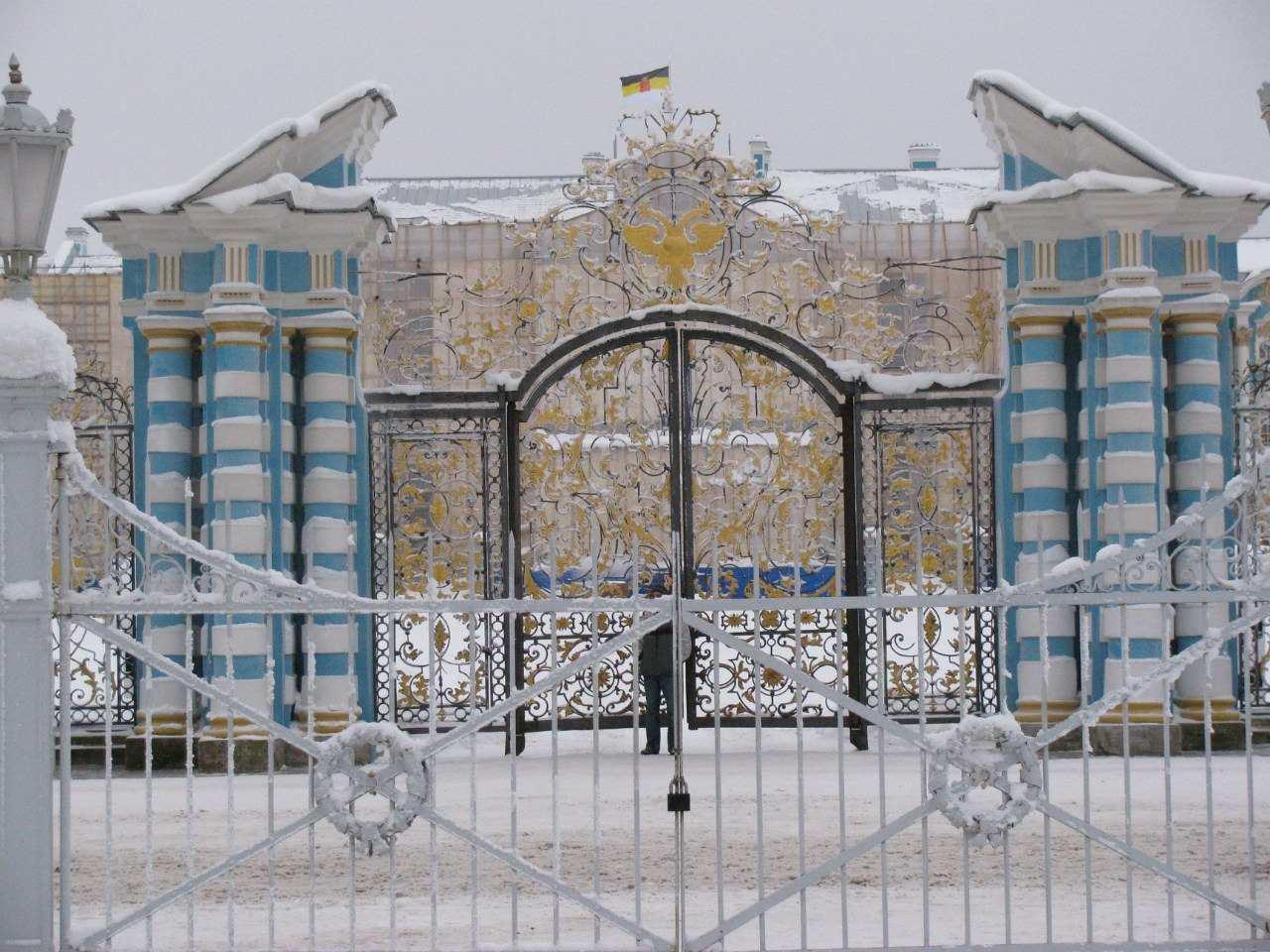 Царское Село зимой