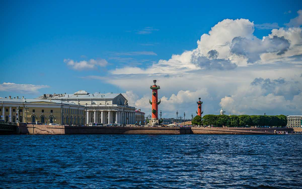 The Spit of Vasilievsky Island