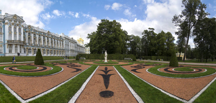 Excursion to the Catherine Park in Pushkin (Tsarskoe Selo)