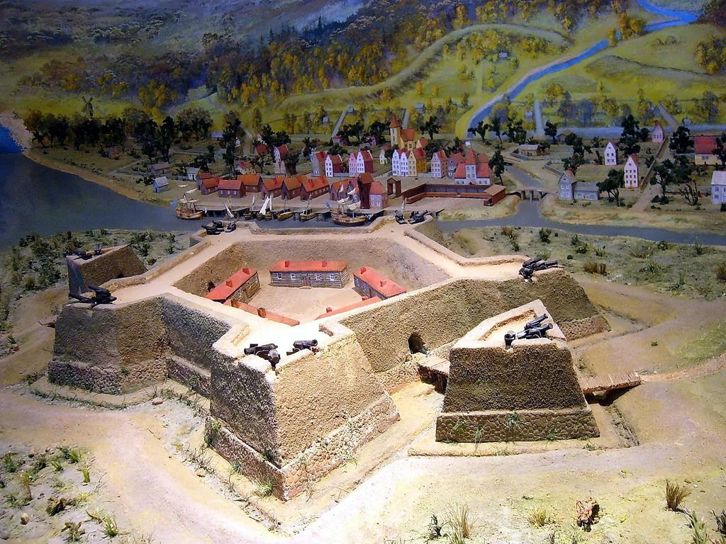Swedish fortress Nienschants