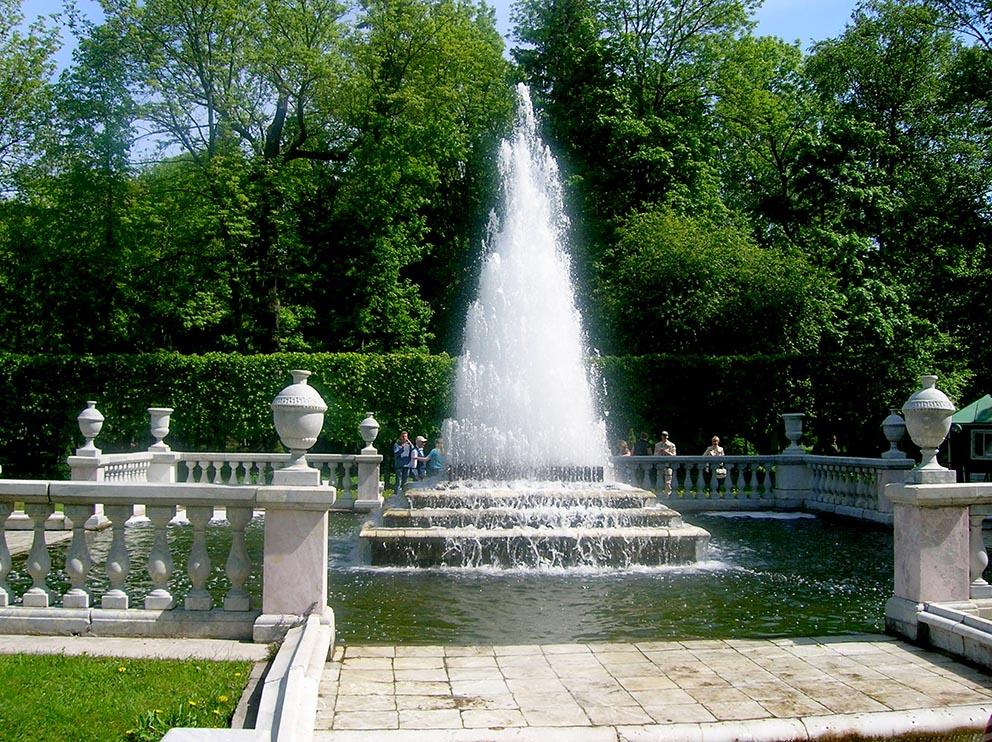 The Pyramid fountain