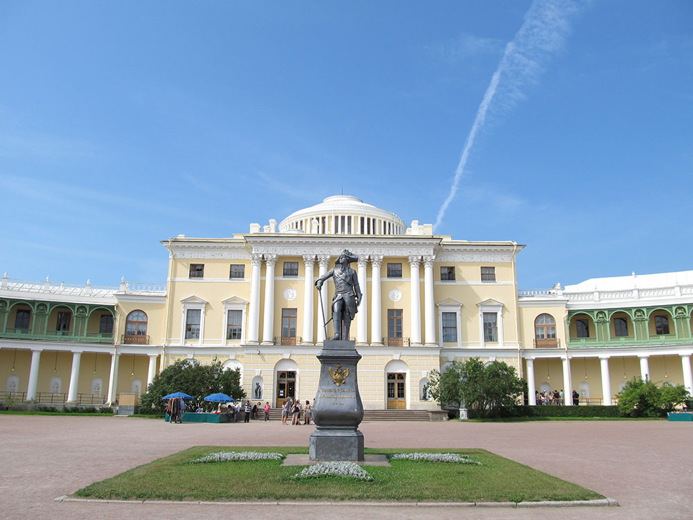 The Grand Palace in Pavlovsk
